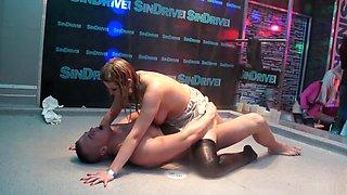 Amazing pornstars Kiki Minaj, Kate Gold and Karol Orchid in exotic brazilian, mature adult video