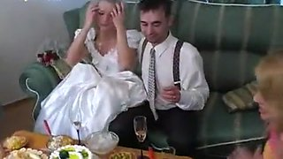 Drunk Russian Bride & Friends