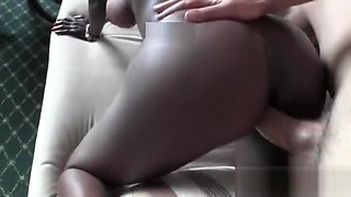 Amateur African Talked Into Sucking Dick At Casting