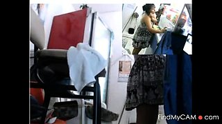 pregnant public shop anal