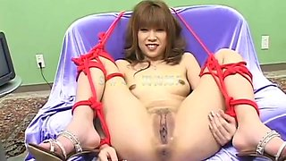 Jerk off and piss into her open snatch