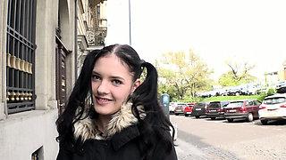 Hot schoolgirl Anie Darling enjoys sex after massage