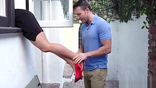 MOM'_s both holes pounded by SON
