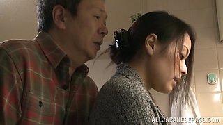 Mina Kanamori hot Asian milf is a horny housewife
