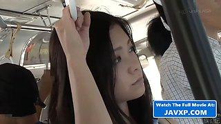 Asian teen fucked on the bus