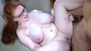 Redhead whore with big tits