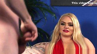 Glam Cfnm Mistress Blonde