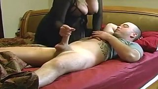 Sexy milfmy mom helps me for sleeping every night you will love it guys
