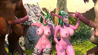 Ysera and tyrande