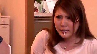 Momoka Nishina Japanese housewife milf cream fuck toys