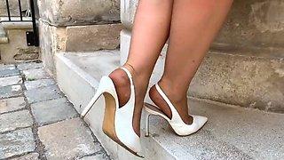 Feet in nylon video 37