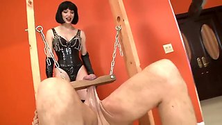 Whipping your body is not enough , they whip your balls