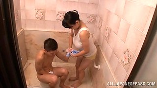 Magnificent Emiko Ejima Takes A Hot Shower With A Horny Dude