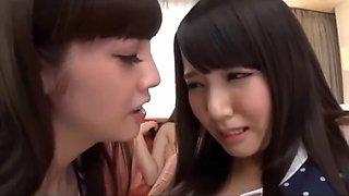 Japanese lesbian group loving
