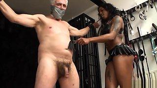 Mistress kiana ballbusting kicks