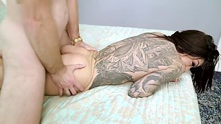 Busty Step Daughter Craves Anal from Her Step Dad - Karma RX