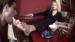Serbian Mistress Socks & Foot Woship
