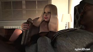 Maria&#39s interracial cuckold night