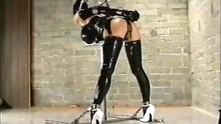 Tight Latex Bondage