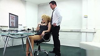Aruba Jasmine New Girl in the Office 1080p HD