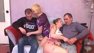 Happy Russian Family - 5
