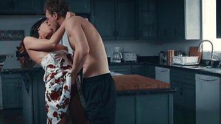 Horny couple enjoys fucking until ultimate orgasm