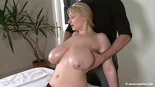 Please massage my tits