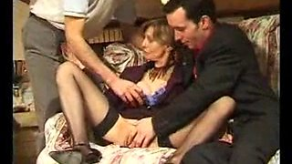 French MILF Gets Rammed