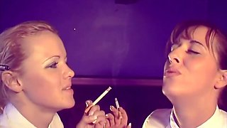 UK BRITISH SMOKING BABES FULL VIDEO VOL 1 - SEXY SMOKING CLASSIC