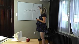 the mother of love: your pregnant teacher eats you
