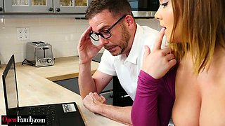Kinky husband wants to fuck his busty wife Natasha Nice in front of web camera
