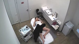 Hacked Cam - East-Russia Beauty Salon Depilation 02 Pregnant