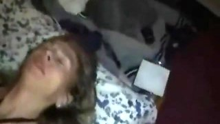 Mature Wife Brutal DP