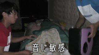 Sleeping Japanese Girl Socks Removal and Tickle