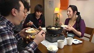 Horny Japanese chick Aya Asakura in Fabulous MILF, Blowjob JAV movie