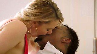 Interracial kissing compilation #3