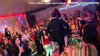 CFNM Strippers Turn Drunk Girls Into Sluts