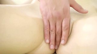 18 Virgin Sex - Starts rubbing Liliana naked body