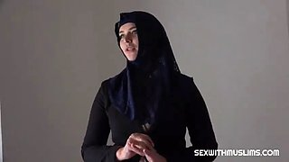 Czech muslim girl
