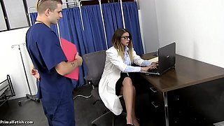 Humiliating and fucking the hot bitch doctor brooklyn chase hd