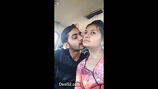 Desi college couple
