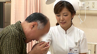 Japanese Married Nurse Sex Therapy With Her Neighbor