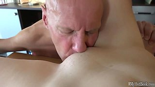 Daisy Cake is a beautiful college girl that lives with an older man