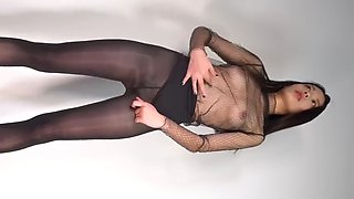Asian dance tease 001
