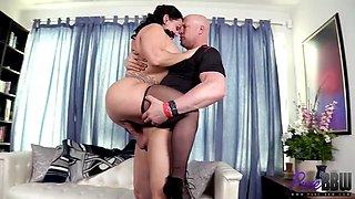 Bbw gets a nice big cock