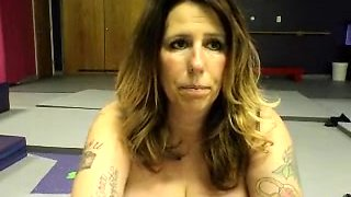 My big tit homemade video is showing me on webcam