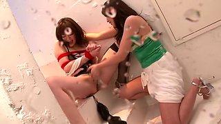 Yuka Sakurai Marika Large Injection Lesbian Bukkake Cum Soaked Body Squirting Ecstasy Geki