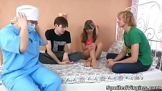 Penelope is a young and erotic blonde, but a virgin. She