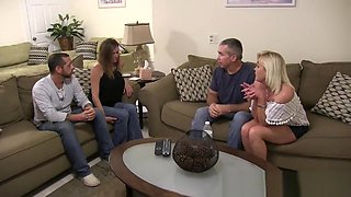The Taboo Family Discussion Orgy