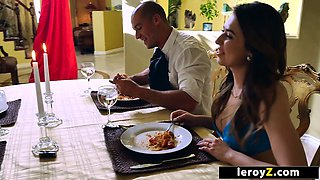 LEROYZ - Swingers Dinner Party Foursome Sex Video